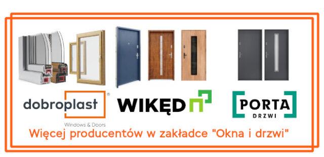 Współpracujemy z wieloma czołowymi producentami okien i drzwi.