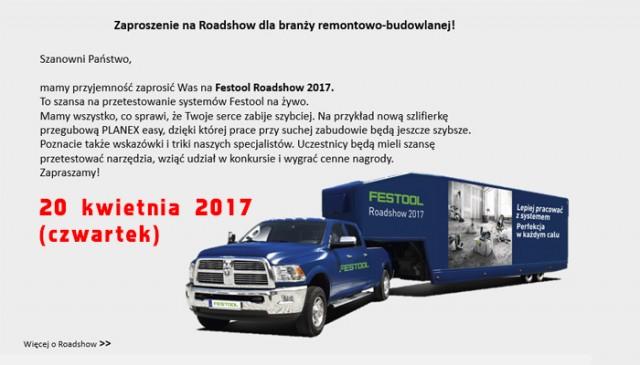 Festool Road Show 2017