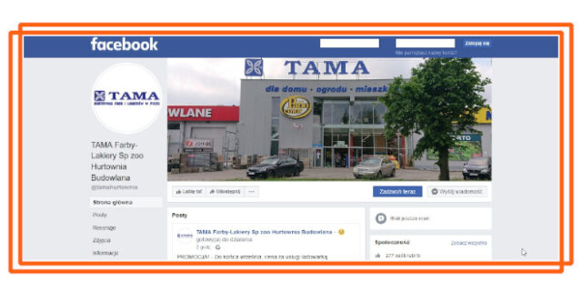 Uruchomiliśmy własną stronę na Facebooku i jest sukcesywnie rozwijana. Sprawdź klikając tutaj.
